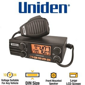 Uniden PRO5050  AM CB Mobile Radio