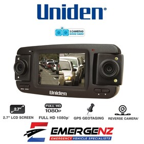 Uniden iGO CAM 850 Dash Camera (Three Camera!)