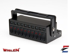 Whelen 10 Function Lighted Switchbox
