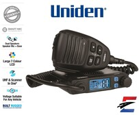Uniden UH9000  Mini Compact Size UHF CB Mobile with Smart Mic Technology
