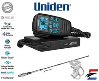 Uniden UH9060 Accessory Pack  Mini Compact UHF CB Mobile with AT880 Antenna & Mount Bracket