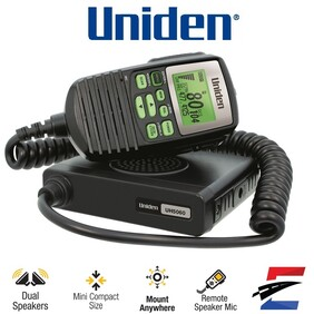 Uniden UH5060 Mini Handheld UHF CB Mobile